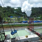 Drilling site of Lahendong Geothermal