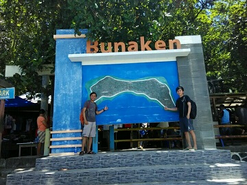 Bunaken! Another perks of being a field engineer